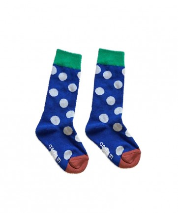 CALCETINES BLUE DOTS