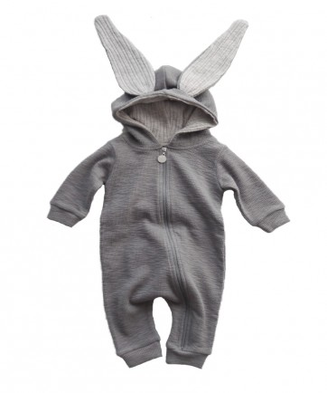 RABBIT SUIT GRAY