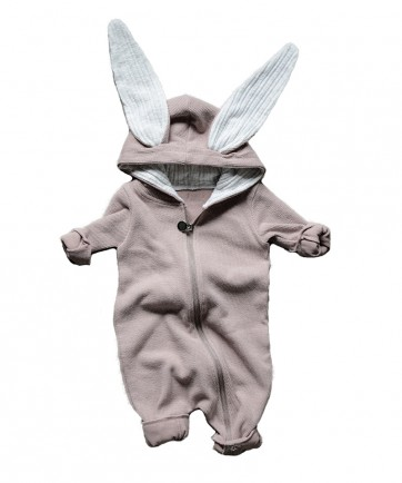 RABBIT SUIT PINK