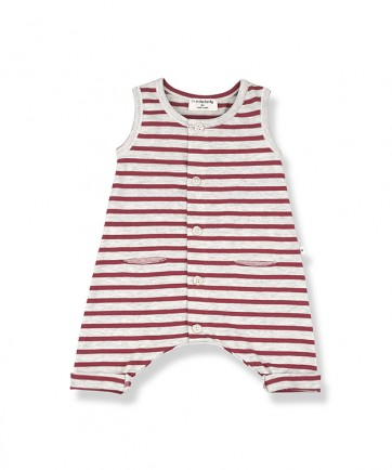 ROMPER RAYAS RED