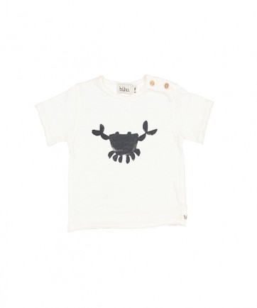 CAMISETA CRAB BLANCO