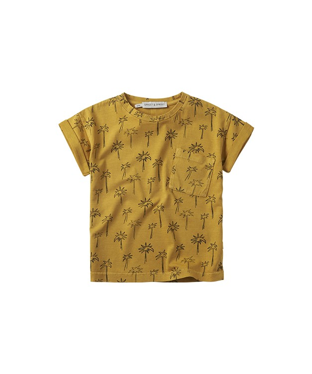 CAMISETA PALMERAS YELLOW